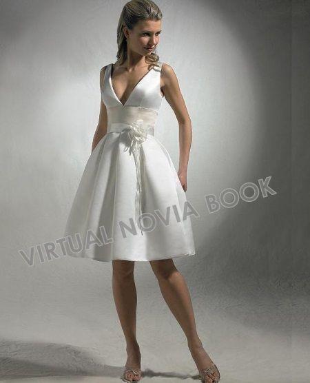 Vestido denovia corto :: Virtual Novia Book