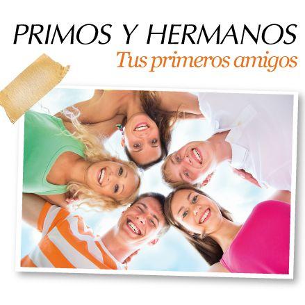 Primos y hermanos, Tus primeros amigos http://www.inkomoda.com/primos-y-hermanos-tus-primeros-amigos/
