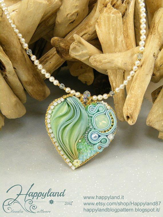 *P Romantic heart pendant TUTORIAL by Happyland87 on Etsy, $13.00