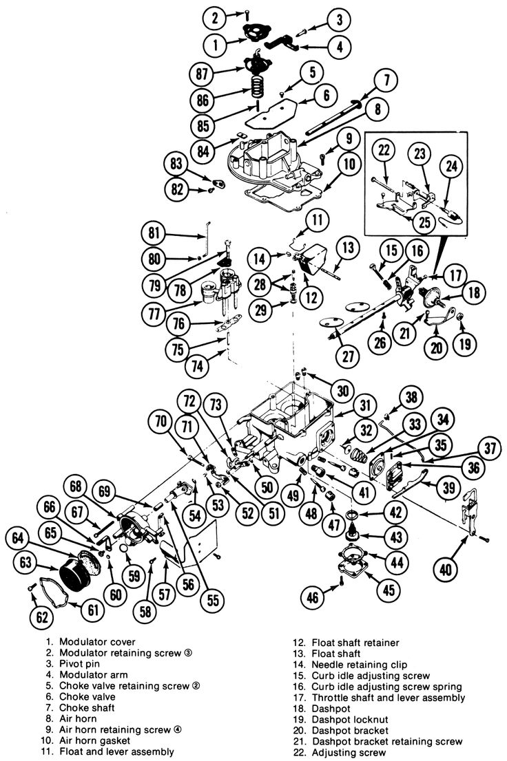 Wiring Diagrams For Cars And Truck Repair Guides Fuel System Autolite Motorcraft 2100