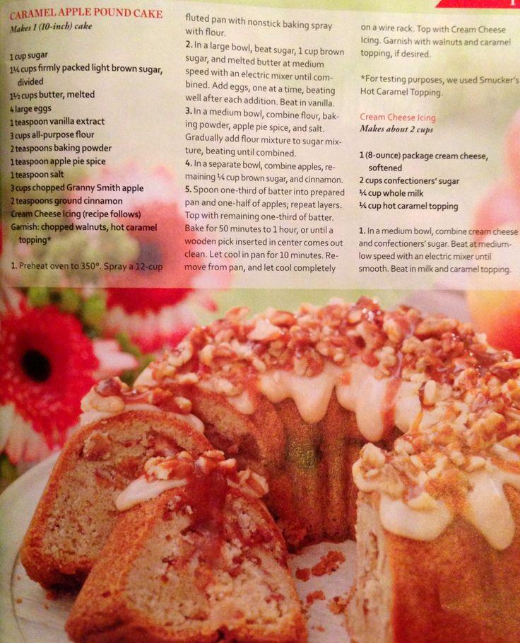Apple And Caramel Cake