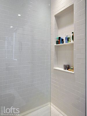 shower stall shelves - Google Search