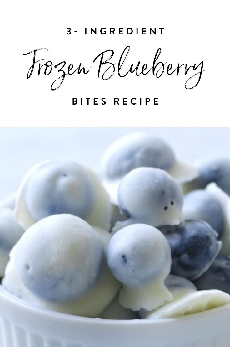 Healthy, delicious and easy to make, this triple-threat frozen blueberry recipe is sure to become a go-to favorite.