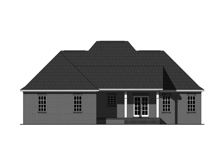 22 best the one story home stylish living without stairs for Italian country home plans