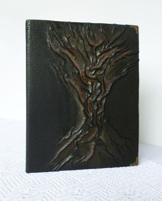 Photo Album Leather Black Large Tree of Life by AnnaKisArt on Etsy #leatheralbum, #blackalbum, #leathergift, #treeoflifealbum, #photoalbum, #giftforcouple, #familyalbum, #handmadealbum, #largealbum,
