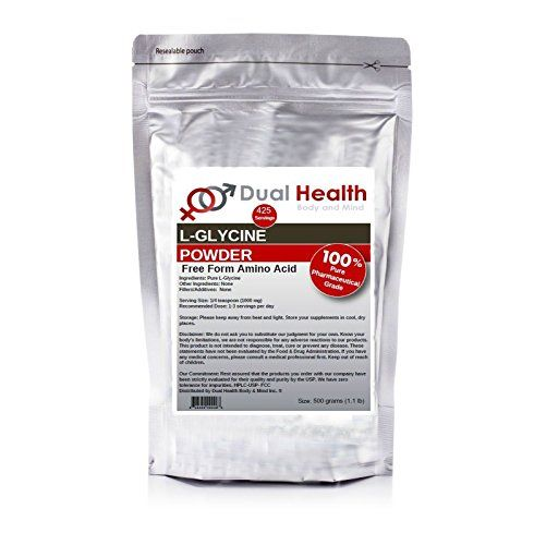 Pure Glycine Powder (500 grams (1.1 lb)) Bulk Supplements >>> Details can be found by clicking on the image.
