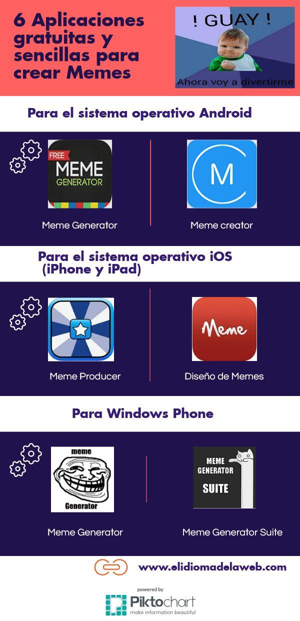 Aplicaciones para crear Memes