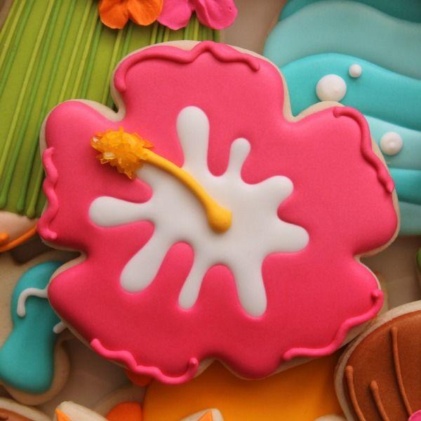 Hibiscus Cookie | The Sweet Adventures of Sugarbelle