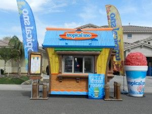 Hawaiian shaved ice shack for sale