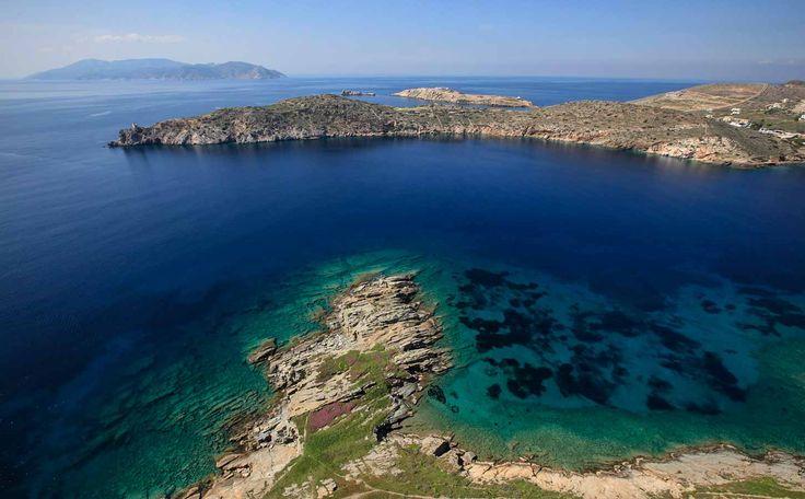 Koumpara beach Ios, Greece