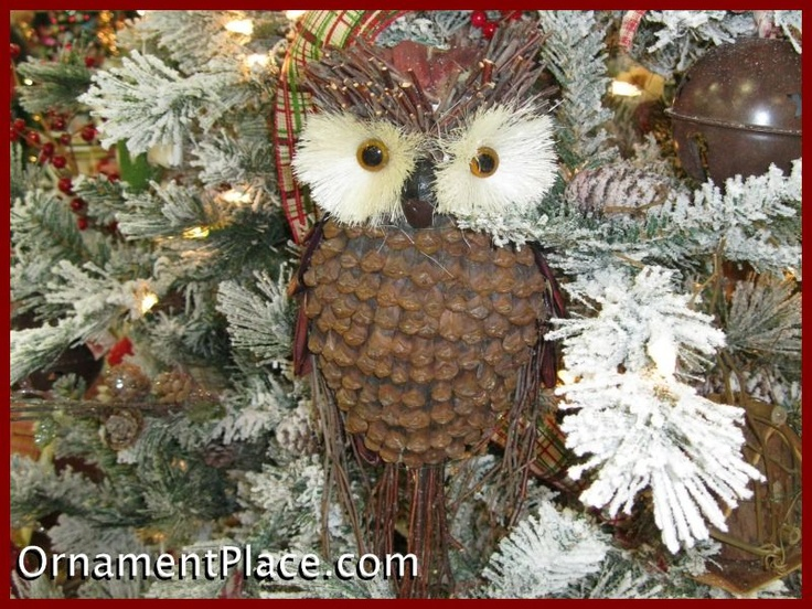 9 best owl christmas images on Pinterest  Owl ornament Christmas