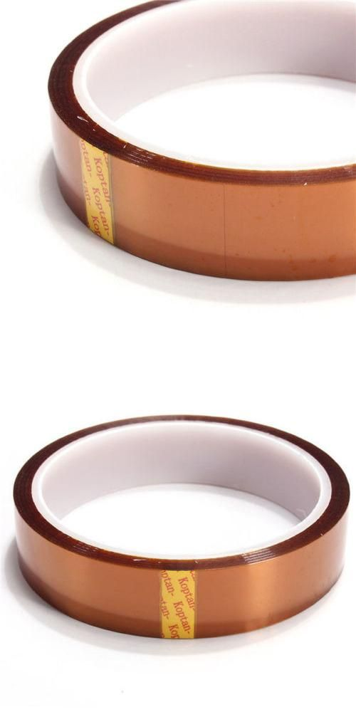 [Visit to Buy] 20mm 33M 100ft Kapton Tape Adhesive insulation  Resistant Polyimide #Advertisement