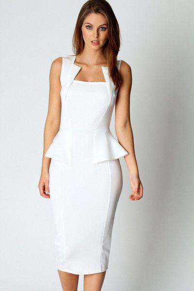 17 Best ideas about Peplum Dresses on Pinterest  Work dresses ...