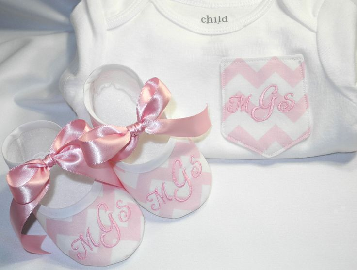 Chevron Pocket Tee - Monogrammed Baby Shoes - Chevron Pocket Onesie - Onesie and Match Shoes by KayLaneSisters on Etsy https://www.etsy.com/listing/154532927/chevron-pocket-tee-monogrammed-baby