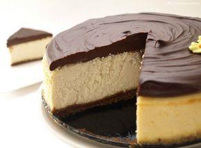 Cheesecake de Baileys con chocolate - MisThermorecetas.com