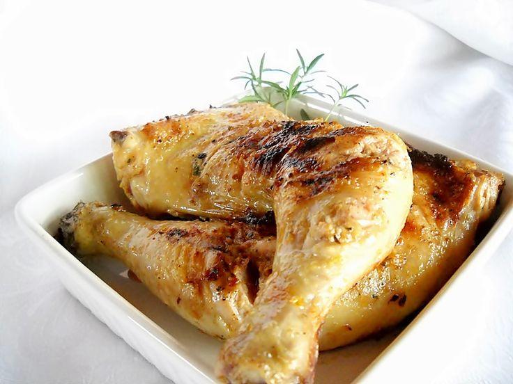 Bucataresele Vesele-retete culinare,retete ilustrate: Pulpe de pui marinate la gratar