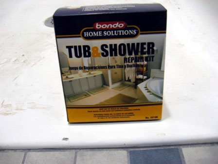 Repair a Fiberglass Tub or Shower Tub remodel, Bathtub