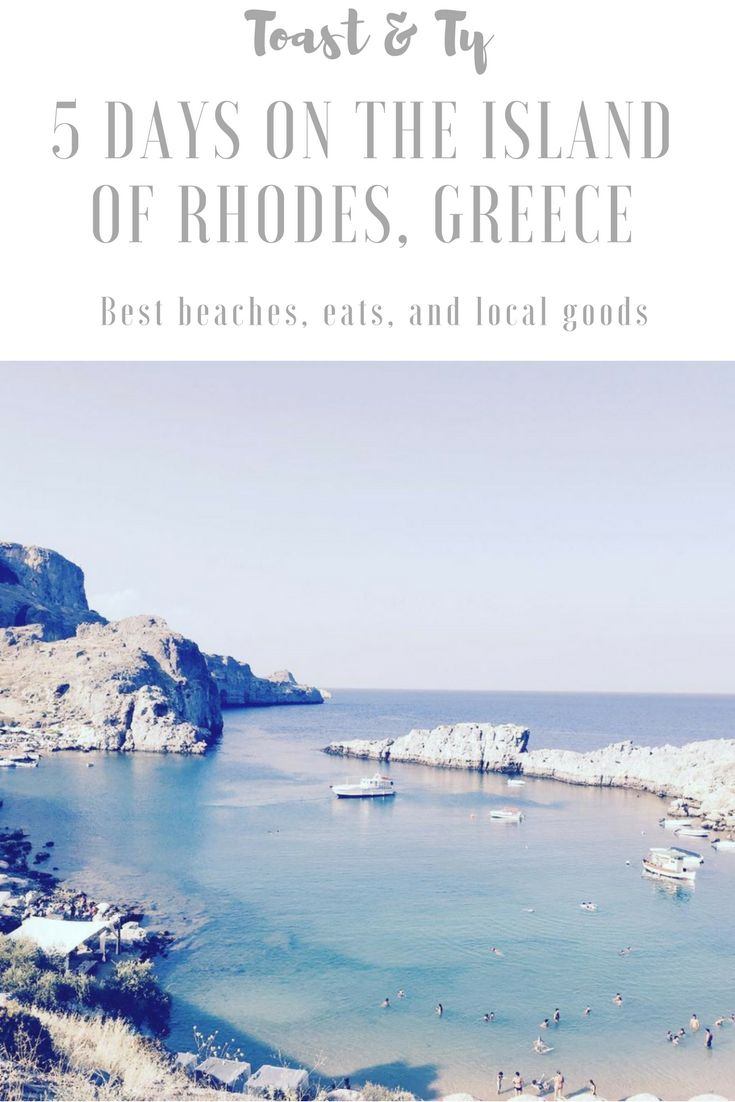Everything you need for an incredible visit to Rhodes Island. Best beaches, restaurants, and local shopping.