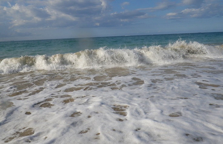 There's nothing like walking on the beach in the cool water