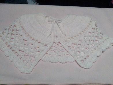 Crochet Pattern Communion Cape : Handmade First Holy Communion Cape Shrug Wrap - Crochet ...