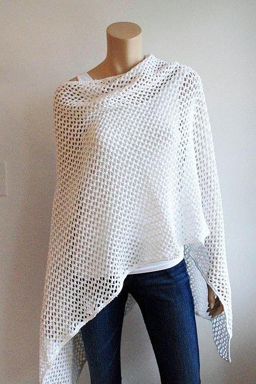 Free Crochet Pattern Ruana Wrap ~ legite.info for .