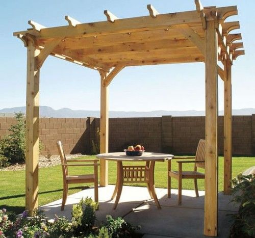 1000 ideas about free standing pergola on pinterest for Diy free standing pergola