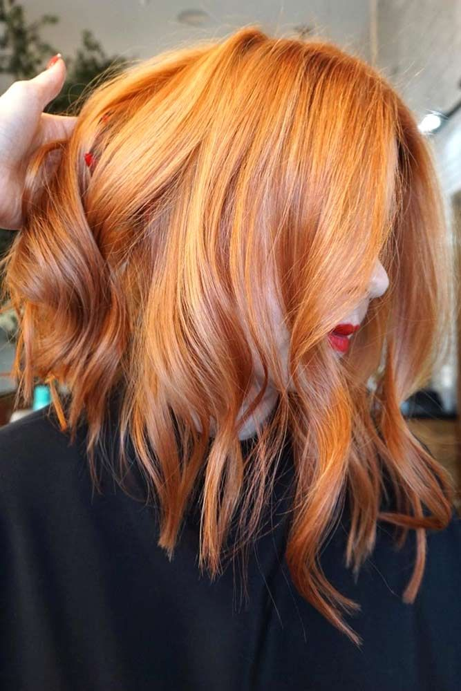 25 Eye Catching Ideas Of Pulling Of Orange Hair Today Coral Hair Hair Color Orange Red Balayage Hair
