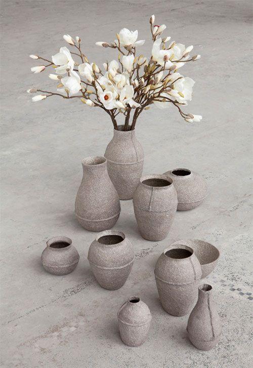 #paperpulp #vase