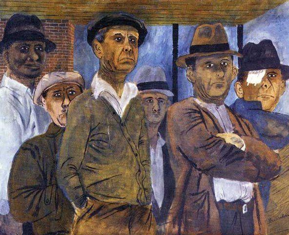 Unemployment by Ben Shahn