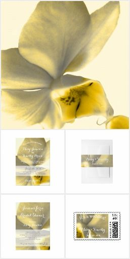 Yellow Flower Wedding Collection. All about your wedding! Invitations, stickers, stamps and more, for the most special day of your life #fomadesign
