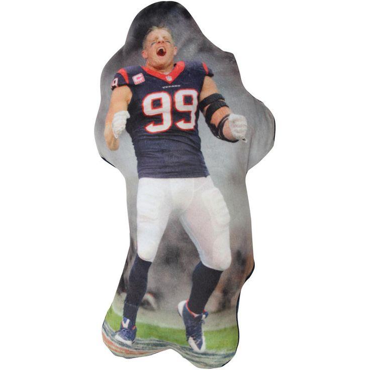 J.J. Watt Houston Texans Player Printed Pillow