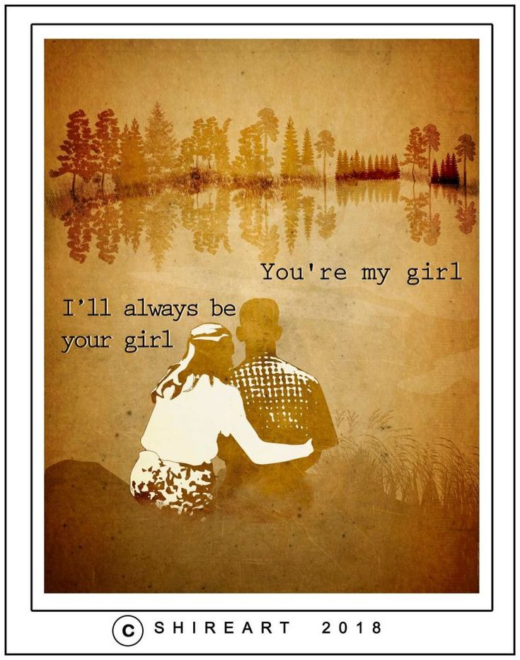 Forrest Gump and Jenny Quote - My Girl
