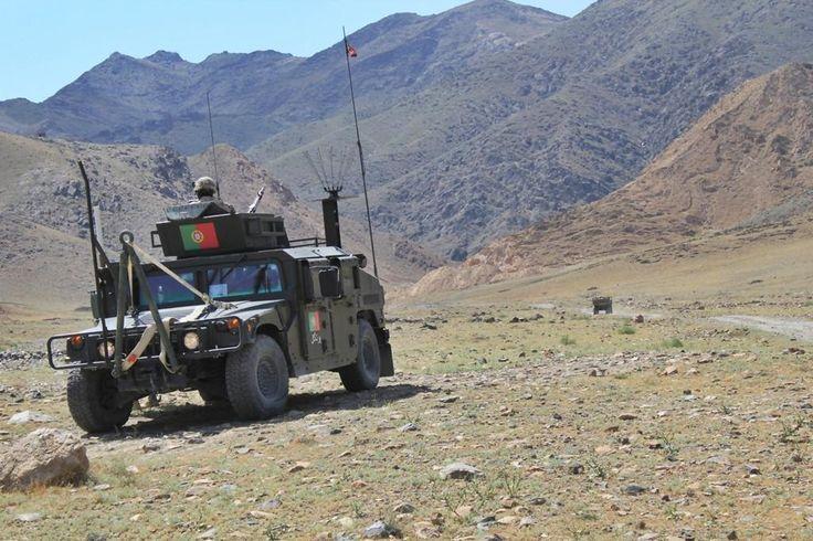 Humvee HMMWV in Afganistan ★ Portuguese Armed Forces