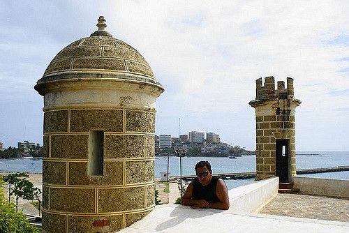 Castillo en Pampatar,  Isla Margarita - Venezuela