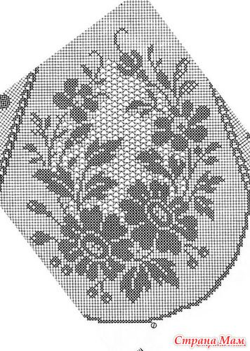 """По просьбам и с разрешения Хозяйки туники начнём готовится к весне. Вяжем Тунику """"Райская птица"""" Вязание очень простое. Я вообще считаю, что филейное вязание одно из простейших вязаний."""