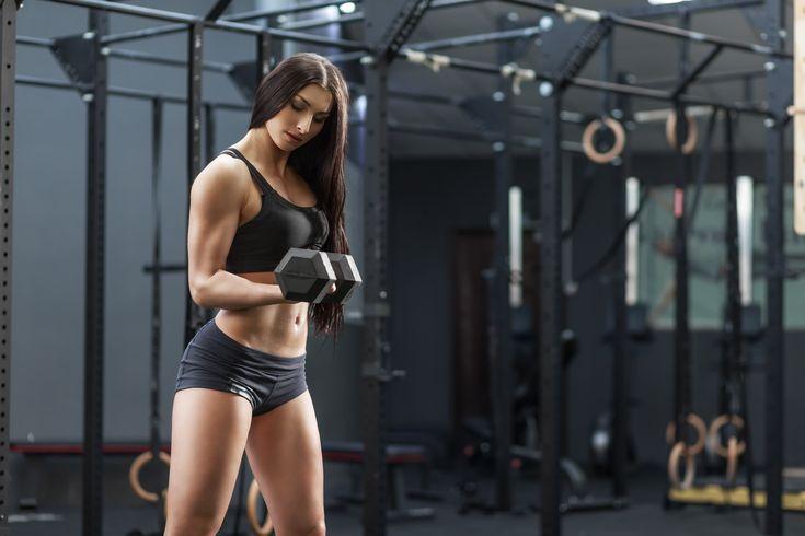 Female Fitness Gym Arms Dumbbell 5k Wallpaper Hdwallpaper Desktop Workout Posters Fitness Body Workout