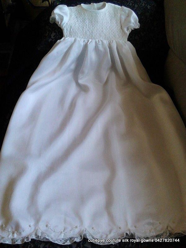 silk heirloom smocked gown 1920 design 0427820744