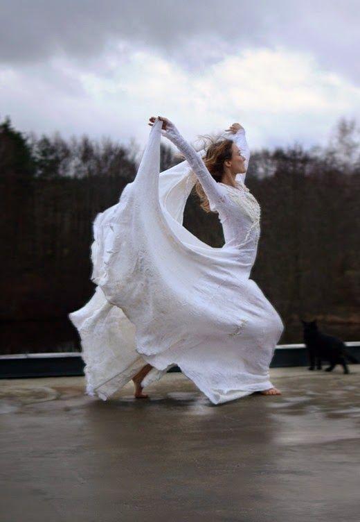 nuno felt dress by vilte
