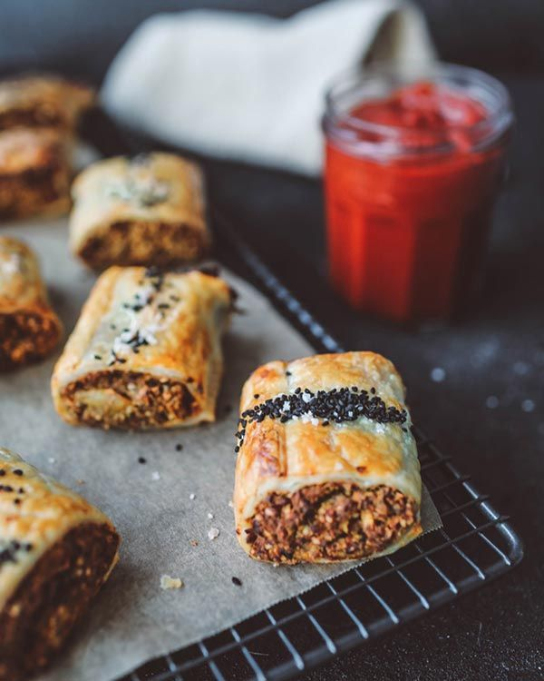 Recipe Keira Rumble S Vegetarian Sausage Rolls Homemade