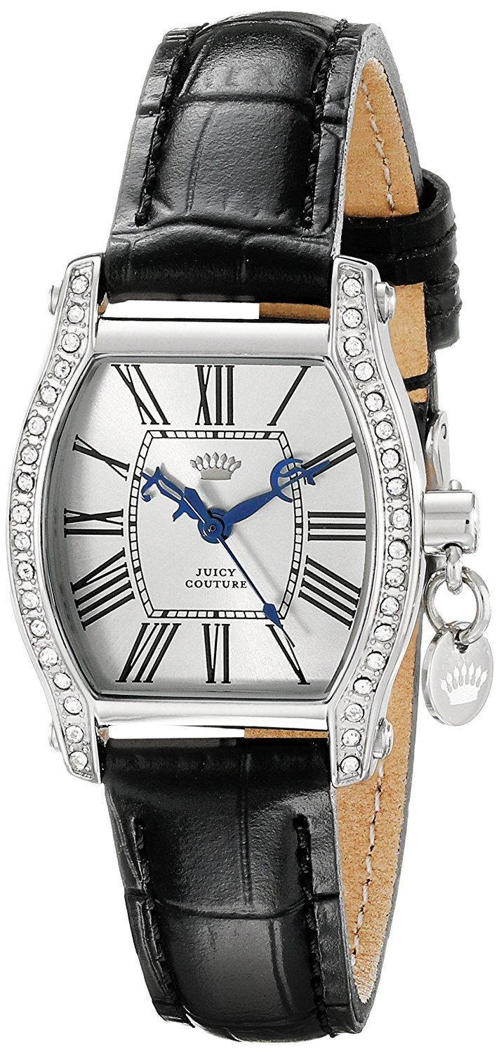 Juicy Couture Women's 1901092 Dalton Mini Analog Display Quartz Black Watch -- Wow! I love this. Check it out now! : Movado Watches
