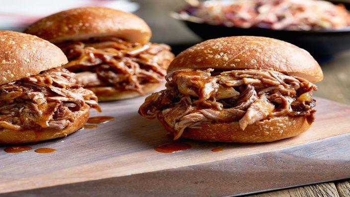 Guarda questa ricetta - Maiale sfilacciato – di Ree Drummond e altri gustosi piatti su Food Network