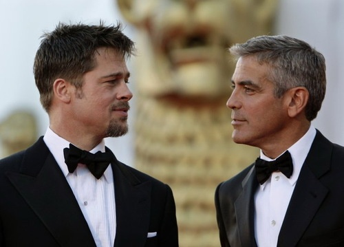 15 Same-Sex Romantic Comedy Pairings That Would Make Gay Marriage More Popular: Favorite Actor, Gere George Clooney, Film Festivals, Beautiful Men, Bow-Ti, Handsome Men, Bowties, Brad Pitt, Beautiful People