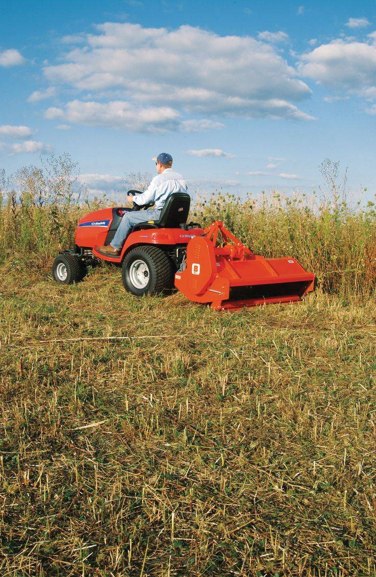 17 best images about garden tractors on pinterest for Lawn and garden implements
