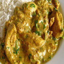 Chicken, coriander, cashew nut curry. Yes please.