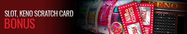 3 Slots, Keno and Scratch Cards Bonuses up to 200% and $50 Free at Casino Extreme