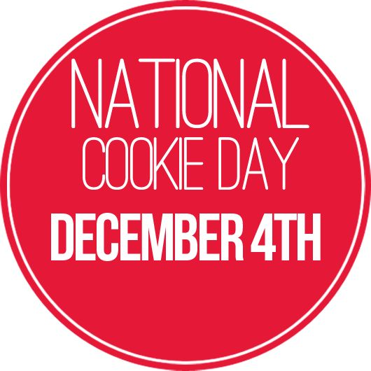 December 4th is National Cookie Day!: Happy National, National Food, Food Holidays, December Chat, National Pies, December 4Th, National Cookies Day, Cookies Momster, December Delight