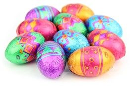 Patterned mini Easter eggs #Easter #Choclates #Couponcodes #Holidays