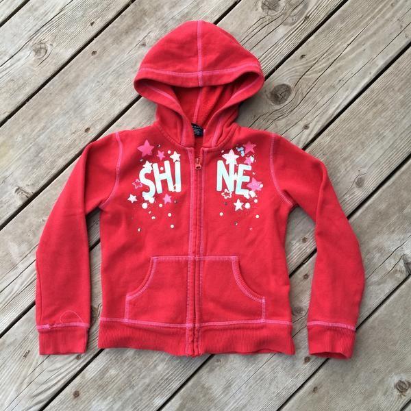 Full-Zip Hooded Sweater (Girls Size 6-6X)