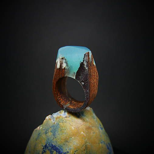 ForestDreamer / Drevený prsteň: Kúsok od stredu Zeme