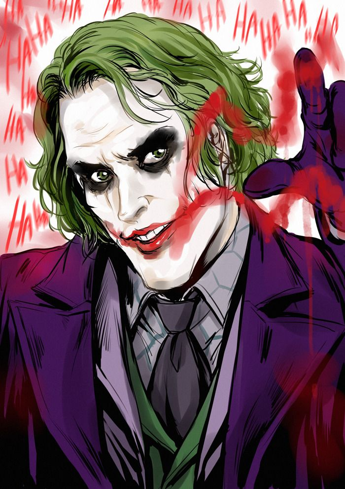 Request #1 Heath Ledger Joker